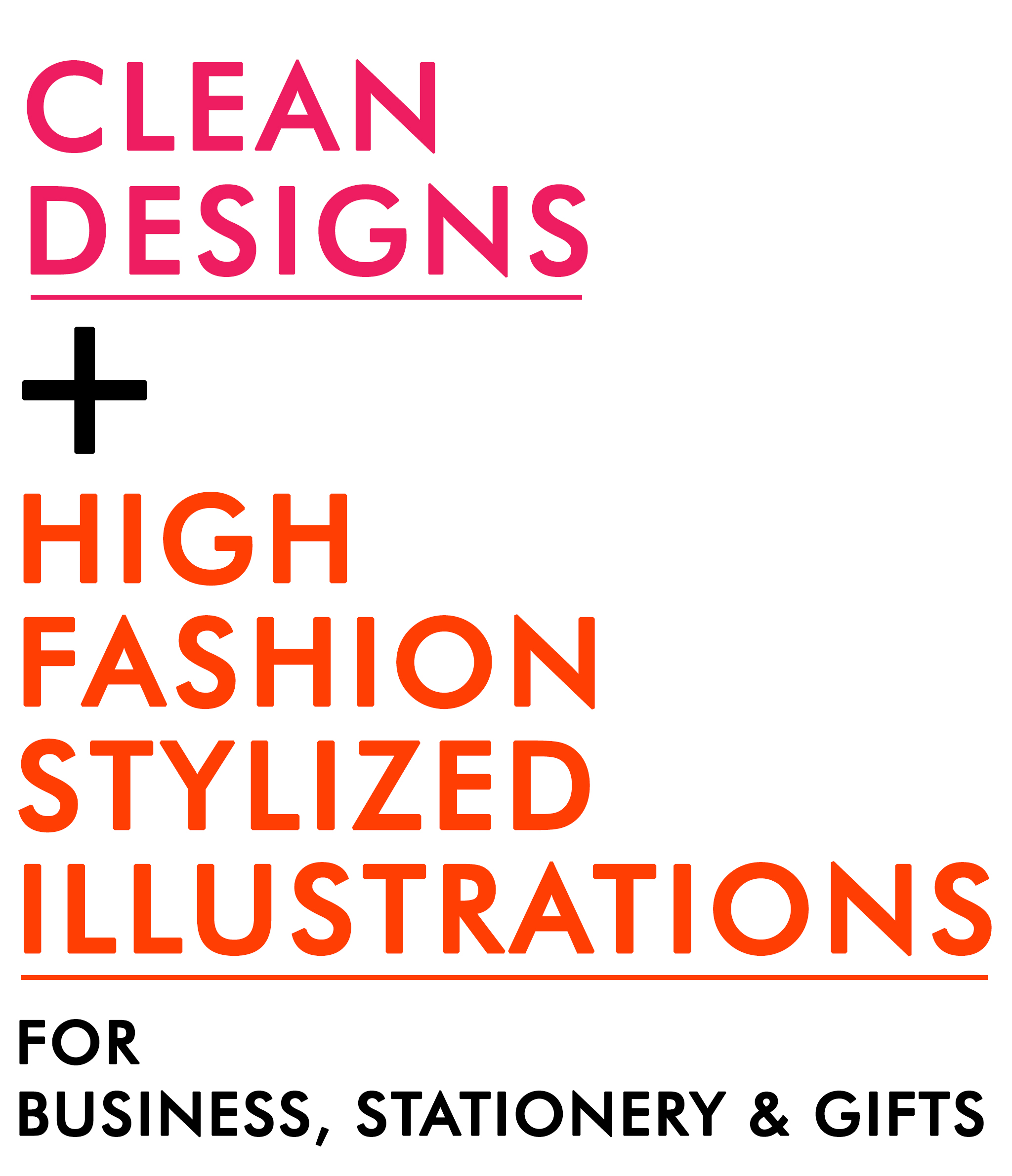 CLEAN DESIGNS (with tag line)